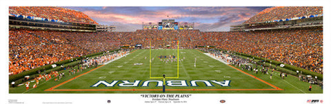 "Auburn Tigers ""Victory on the Plains"" Panorama (2010) - USA Sports"