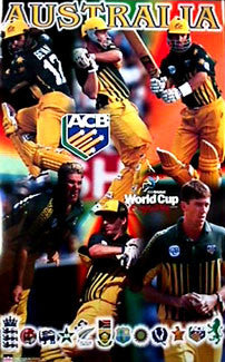 Team Australia, World Cup Cricket 1999 - Starline Inc.