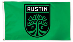 Austin FC Official MLS Soccer Team Deluxe-Edition Premium 3'x5' Flag - Wincraft Inc.