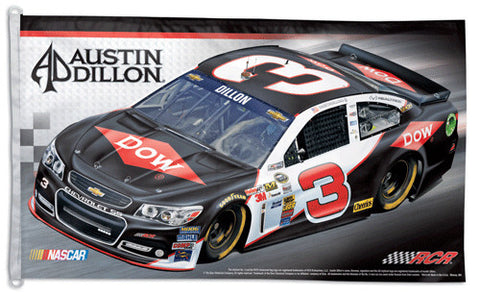 Austin Dillon NASCAR #3 Official HUGE 3'x5' Commemorative Flag - Wincraft
