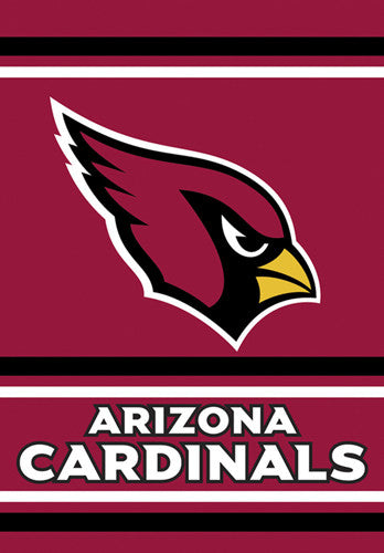 "Arizona Cardinals Official NFL Football Team 2-Sided 28""x40"" Banner - BSI Products Inc."