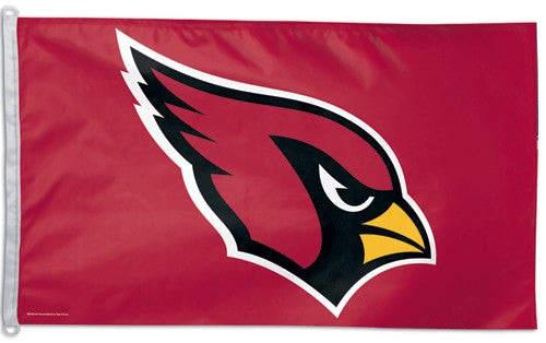 Arizona Cardinals Official NFL Football Deluxe 3'x5' Team  Flag - Wincraft