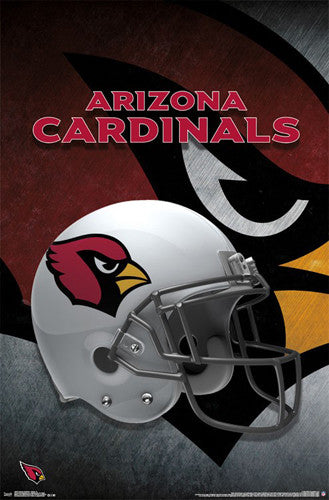 Arizona Cardinals Official NFL Team Helmet Logo Poster - Trends International
