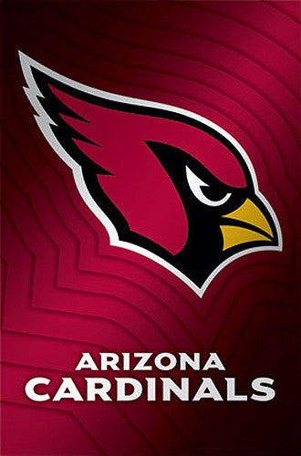 Arizona Cardinals Official NFL Team Logo Poster - Costacos Sports