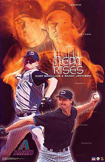 "Arizona Diamondbacks ""Heat Rises"" - Starline 2002"