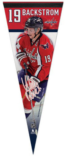 "Nicklas Backstrom ""Signature Series"" Washington Capitals Premium Felt Collector's Pennant - Wincraft"