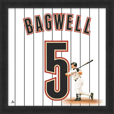 "Jeff Bagwell ""Number 5"" Houston Astros MLB FRAMED 20x20 UNIFRAME PRINT - Photofile"