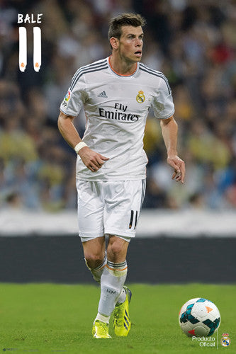 "Gareth Bale ""Superstar"" Real Madrid CF Official La Liga Soccer Poster - G.E. (Spain)"