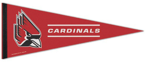 Ball State University Cardinals Official NCAA Team Logo Premium Felt Collector's Pennant - Wincraft Inc.