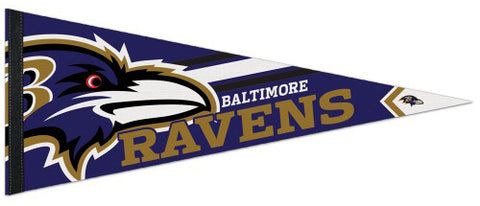 Baltimore Ravens Official NFL Logo-Style Premium Felt Pennant - Wincraft