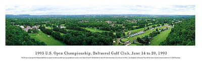 Baltusrol Golf Club Panorama - Blakeway Worldwide 1993