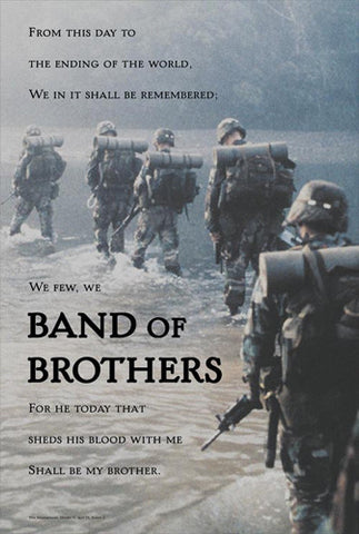 "U.S. Army Infantry ""Band of Brothers"" Inspirational Poster - American Image Coll."