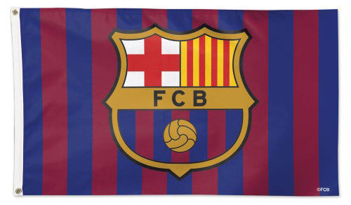 FC Barcelona La Liga Soccer Team Official DELUXE-EDITION 3' x 5' Banner FLAG - Wincraft
