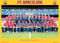 FC Barcelona Team Portrait 2006-2007 Poster - CPG (Spain)