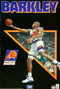 "Charles Barkley ""Infinity"" Vintage Phoenix Suns Poster - Starline 1993"