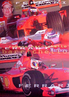 Rubens Barrichello Ferrari - UK 2000