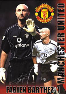 "Fabien Barthez ""Signature"" - GB Posters 2002"