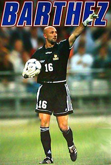"Fabien Barthez ""France '98"" - Pyramid Posters (UK) 1999"