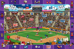 "Baseball Poster for Kids Room (""Spot and Find"") - Eurographics Inc."