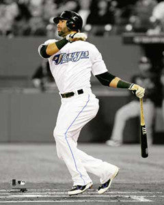 "Jose Bautista ""Spotlight Slam"" (2011) Toronto Blue Jays Premium Poster Print - Photofile 16x20"