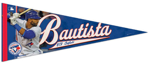 "Jose Bautista ""Superstar"" Premium Felt Commemorative Pennant - Wincraft Inc."