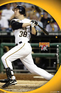"Jason Bay ""All-Star"" Pittsburgh Pirates Poster - Costacos 2007"