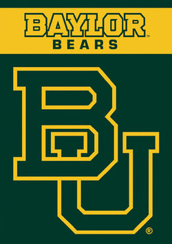 Baylor Bears Official 28x40 NCAA Premium Team Banner - BSI Products