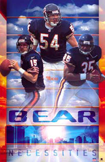 "Chicago Bears ""Bear Necessities"" - Starline 2002"