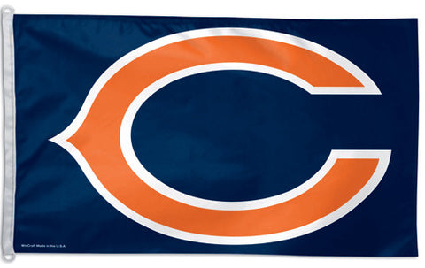 "Chicago Bears ""Big-C"" Official NFL Football 3'x5' Flag - Wincraft Inc."