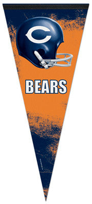 Chicago Bears Retro-Style Official EXTRA-LARGE Premium Felt Pennant - Wincraft Inc.