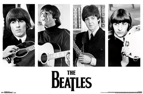 "The Beatles ""Portraits 1965"" Classic Rock Music Legends Poster - Trends Int'l."