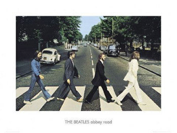 The Beatles Abbey Road Gallery Print - GB Eye (UK)