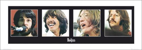 "The Beatles ""Let It Be Portraits"" Premium Poster Print - GB Eye Inc."