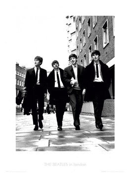 "The Beatles ""In London"" Print (c.1965) - GB Eye Inc."