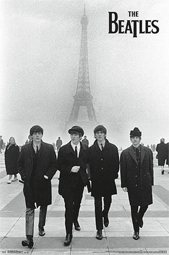 The Beatles In Paris (1964) Music Legends Poster - Trends International
