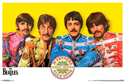 The Beatles Sgt. Pepper's Lonely Hearts Club Band (1967) Portrait Poster - Trends International