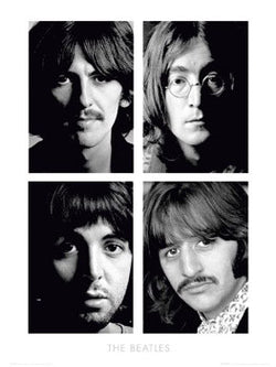 "The Beatles ""White Album Portraits"" Print - GB Eye Inc."