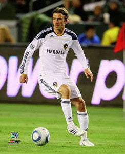 "David Beckham ""Galaxy Action"" (2011) L.A. Galaxy MLS Soccer Premium Poster - Photofile 16x20"