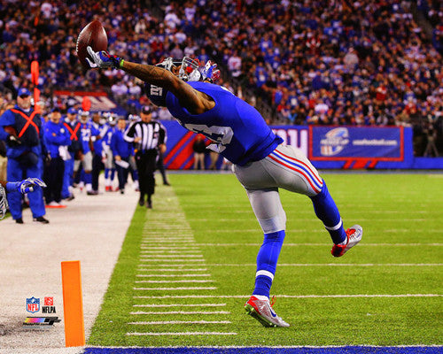 "Odell Beckham Jr. ""The Catch"" (2014) New York Giants Premium Poster - Photofile 16x20"