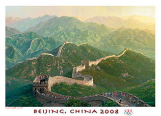Great Wall Torch Run (Beijing 2008) - Fine Art Ltd.