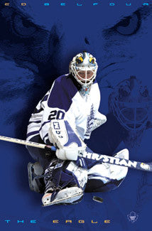 "Ed Belfour ""The Eagle"" Toronto Maple Leafs Poster - Costacos 2003"