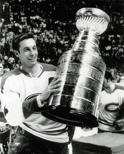 "Jean Beliveau ""Victory"" (1969 Stanley Cup Victory) Montreal Canadiens Premium Poster Print"