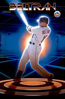 "Carlos Beltran ""The Zone"" New York Mets Poster - Costacos 2005"