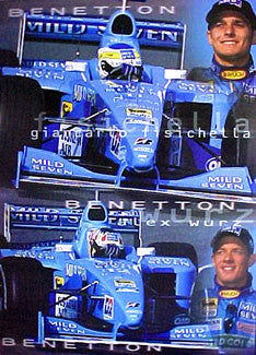 Team Benetton (Fisichella, Wurz) - UK 2000