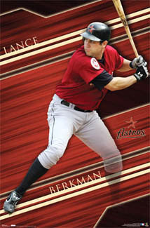 "Lance Berkman ""Superstar"" Houston Astros Poster - Costacos 2007"