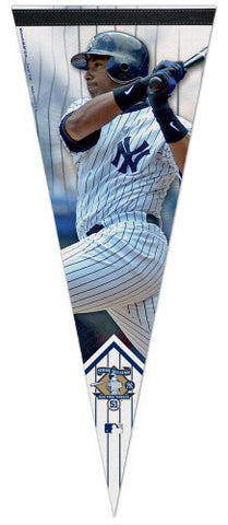 Bernie Williams New York Yankees Official MLB Commemorative Premium Felt Pennant - Wincraft