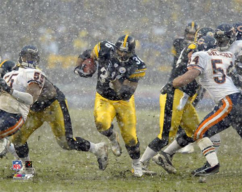 "Jerome Bettis ""Up the Gut"" (2005) Pittsburgh Steelers Premium Poster Print - Photofile"