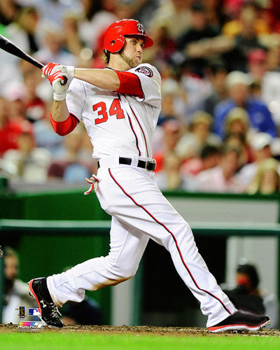 "Bryce Harper ""Phenom"" (2012) Washington Nationals Premium Poster - Photofile 16x20"