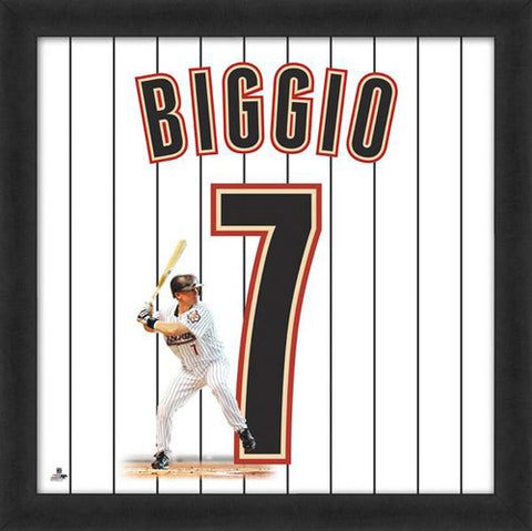 "Craig Biggio ""Number 7"" Houston Astros FRAMED 20x20 UNIFRAME PRINT - Photofile"