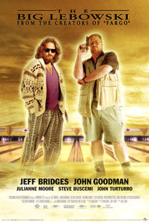 The Big Lebowski One-Sheet Movie Poster Reprint - Import Images
